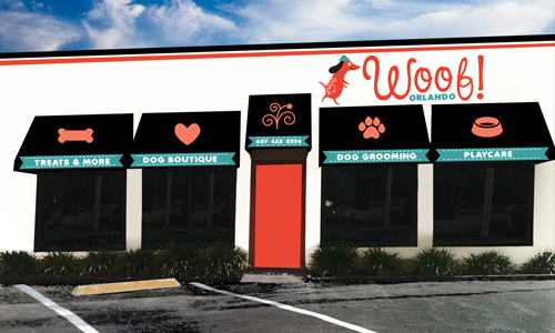 At Woof Orlando we offer pet sitting, kennel services, pet grooming and dog lodging